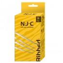 NJC Pack of 16 Ribbed Condoms