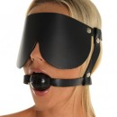 Gag with Rubber Ball and Eye Mask